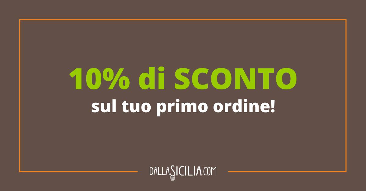 10% di SCONTO sul tuo primo ordine!