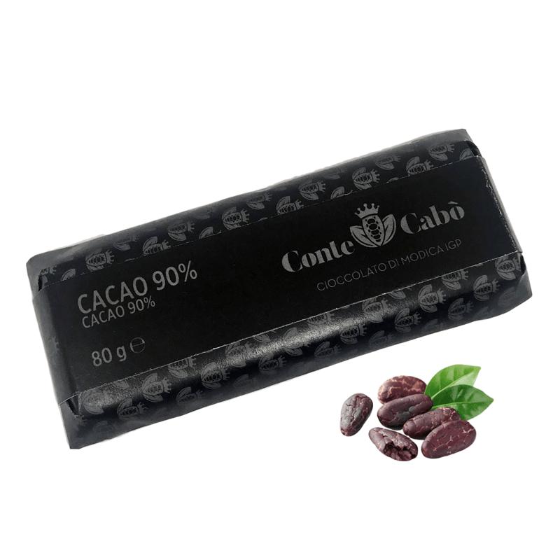 Cioccolato di Modica IGP Cacao 90%