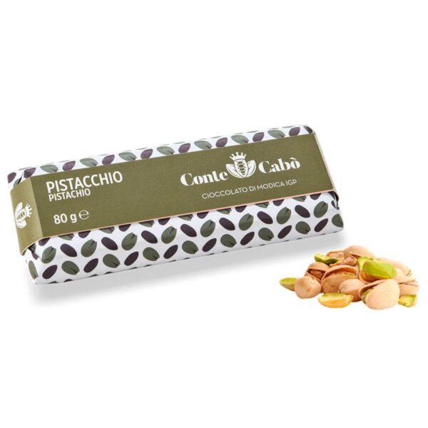 Cioccolato di Modica IGP Pistacchio