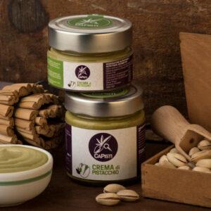 Crema con pistacchio Verde di Bronte DOP