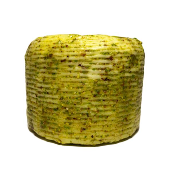 Formaggio primo sale con pistacchio