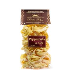 Pappardelle a nidi