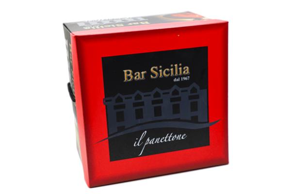 Scatola panettone Bar Sicilia