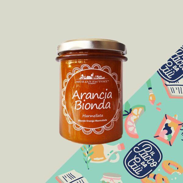 Marmellata arancia Bionda Sicilian Factory