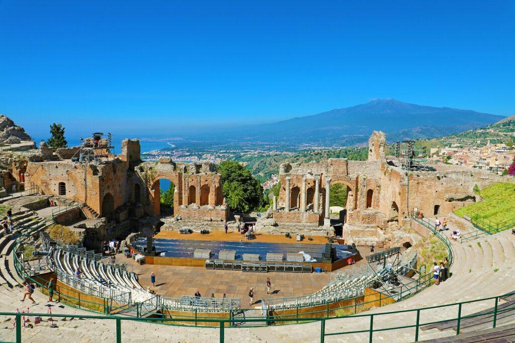 Teatro di Taormina panorama
